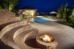 Hardscape projects located in Utah, Idaho and Wyoming, completed with materials manufactured by Amcor.